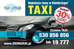 tanie taxi Kołobrzeg