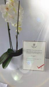 Firma Godna Zaufania – Certyfikat  Dla Sigma Taxi Kołobrzeg.