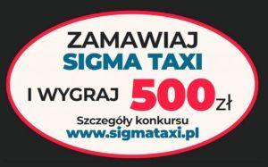 """Pierwszy konkurs pod nazwą """" Zamawiaj Sigma Taxi Kołobrzeg lub Pro Taxi Kołobrzeg  i Wygraj 500 zł """" rozstrzygnięty ."""