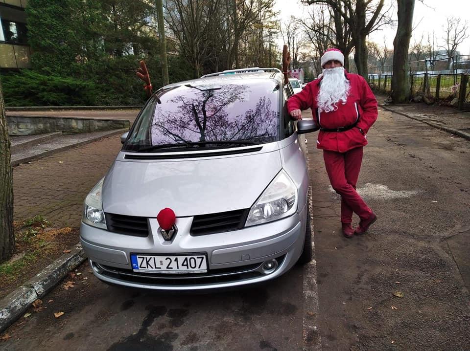 Mikołaj w Sigma Taxi Kołobrzeg